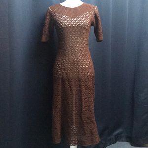 Dresses & Skirts - Vintage knit dress